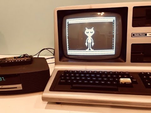 TRS 80, Dancing Demon, and a Korg Monotron Delay getting WEIRD