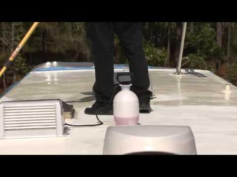 How-To Coat a Fiberglass RV Roof by RV Education 101®