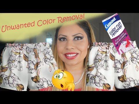 Carbonara Color Run Removal
