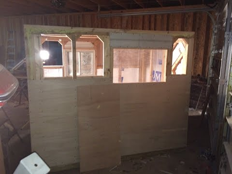 2015 Ice Shack Build!!! From start to finish materials list included.