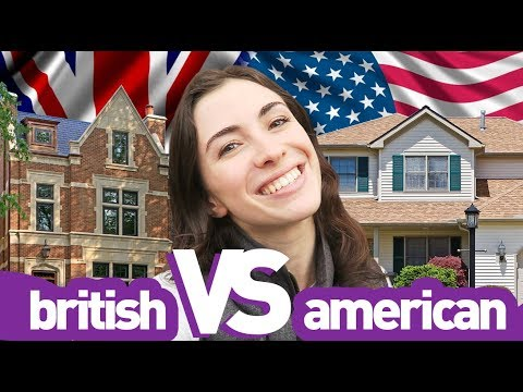 BRITISH vs AMERICAN HOMES - 8 DIFFERENCES