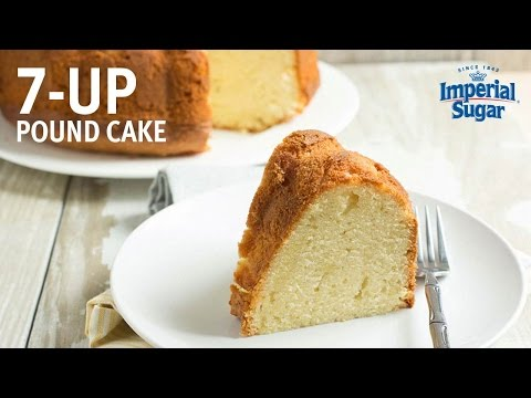 How to make 7 Up Pound Cake