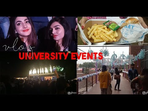 VLOG | University Life In Pakistan | High School Events | BNU | GLOSSIPS