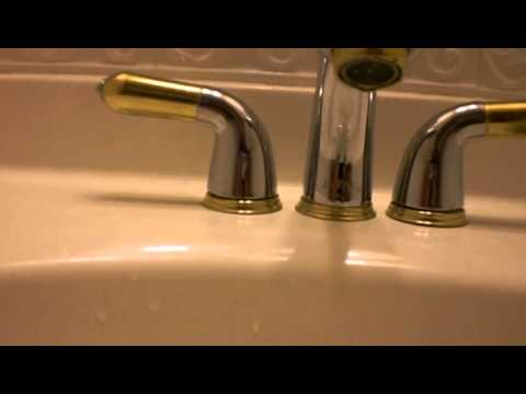 Replacing the O-ring on a Delta Faucet part 1