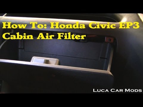 How to change a Honda Civic Cabin Air Filter