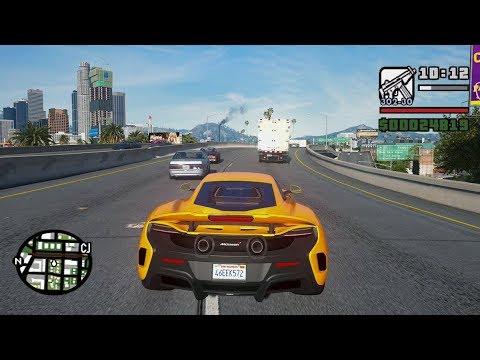 GTA San Andreas - GRÁFICOS SUPER REALISTA!! (Assistindo)