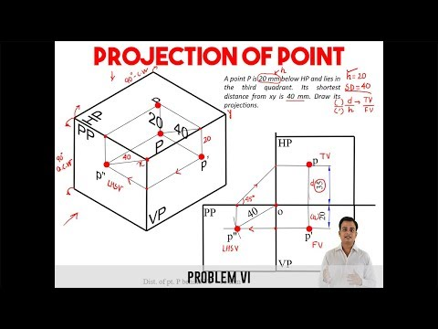 Projection of Point_Problem 6_Reloaded