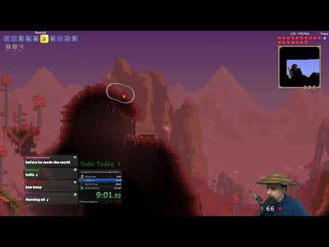 Terraria Speedrun All Bosses Normal Seeded 1:40:11 (WR)