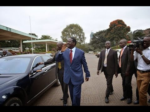 Raila CONFESSES Why He will Leave the Country when NASA DEMOS Happen on FRIDAY.
