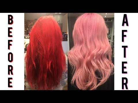 MY HAIR COLOR TRANSFORMATION