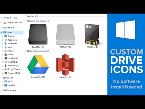 How to Customize Drive Icons on Windows 10 (No Software Install Needed!)