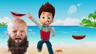 Download Wrong Mouth Learn Colors Paw Patrol Moana Masha and the Bear Talking Ben Finger Family Children Song Video