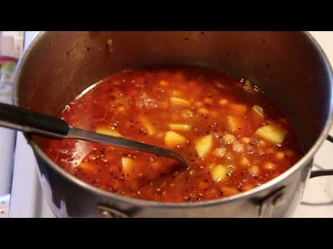 Delicious Halwa Puri Cholay   Cholay Ka Salan   Chickpea With Potatoes HD