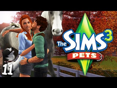 PETS // THE SIMS 3 | PART 11 — Horse Breeding & Baby Chickens!
