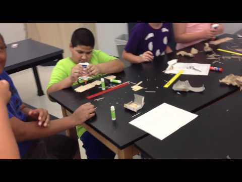Toothpick Bridges Day 1