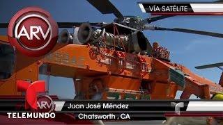Fuegos arrasan con varios condados en California | Al Rojo Vivo | Telemundo