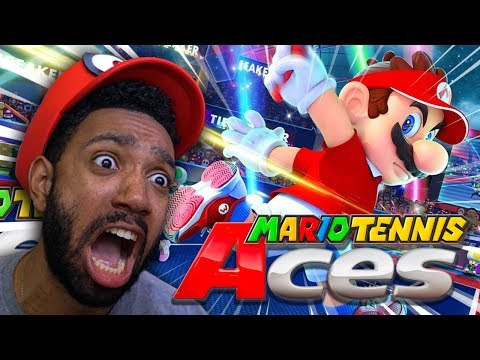 The MOST COMPETITIVE TENNIS Game EVER Created! - Mario Tennis Aces