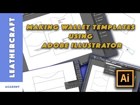 Making wallet patterns using Adobe Illustrator CS6