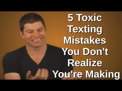 Why a Girl Doesn't Text Back - 5 Toxic Texting Mistakes You Don't Realize You're Making