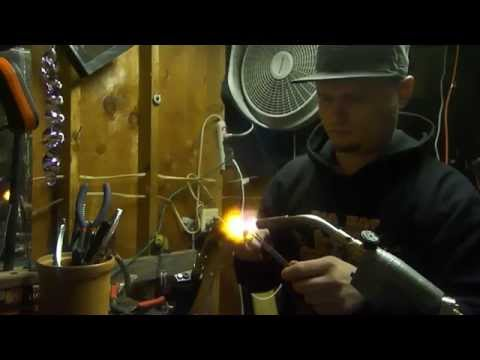 glass blowing with propane only