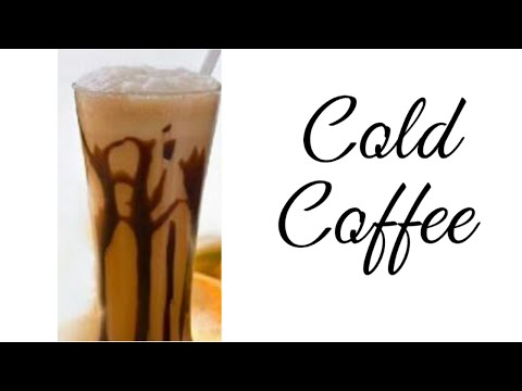 COLD COFFEE WITH CHOCOLATE ICE CREAM