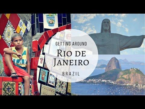 Getting around Rio de Janeiro in Brazil