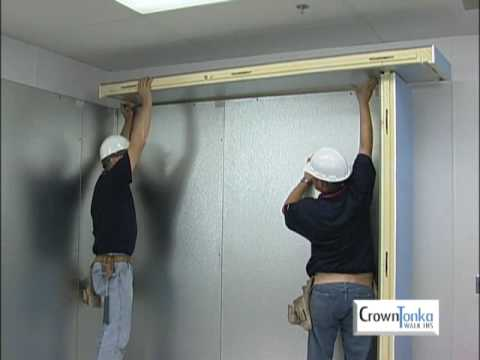 CrownTonka Walk in Cooler Installation Video
