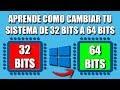 Download Pasar de 32 bits a 64 bits | Windows 10, 8 y 7 In Mp4 3Gp Full HD Video
