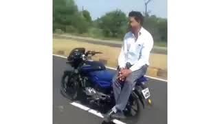 bike auto pilot mode #india