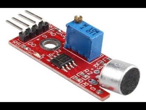 Lesson 7- Arduino Microphone