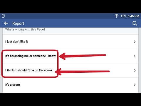 How To Report A Facebook Account , Group And Page || Step wise For FB Beginners