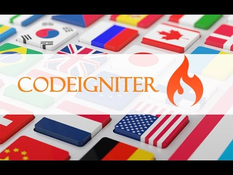 Codeigniter multi language site in 7 steps