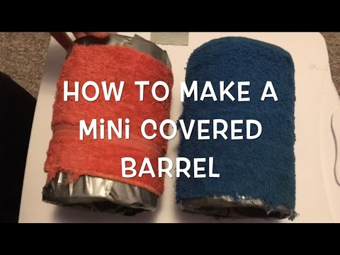DIY: How to Make a Mini Covered Barrel (Rat Training Prop)