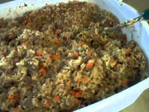 My homemade dog food recipe