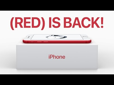 Product RED iPhones Coming Tomorrow!