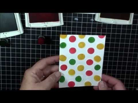 Creating Dimensional Polka Dot Paper