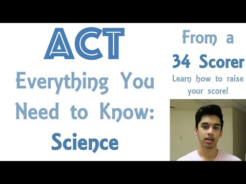 Everything You Need to Know About ACT Science in 5 Minutes | A 34 Scorer's Perspective