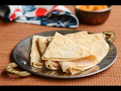 Rumali roti recipe, thin, soft and easy method