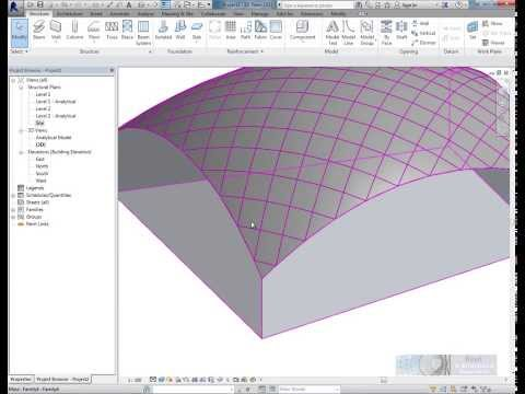 Tutorial -- Conceptual Massing and Revit Structure 2014
