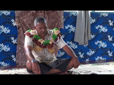 Fijian Minister for Lands & Mineral Resources Hon. Koya commissioned the Navatu Borehole project..