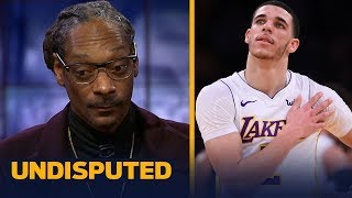 Snoop Dogg joins Skip and Shannon to talk Lonzo