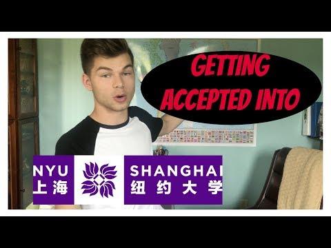 HOW I GOT ACCEPTED INTO NYU SHANGHAI