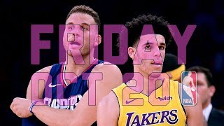 NBA Daily Show: Oct. 20 - The Starters