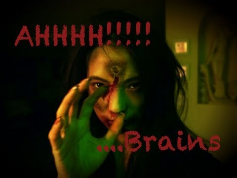 Zombie Makeup Tutorial (Easy Halloween Costume)