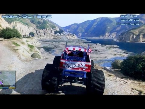 High Volts Gaming - GTA V - Mudding Adventure - Monster Truck & Baja Bug