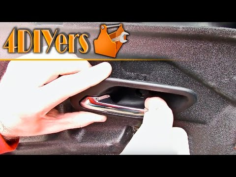 DIY: BMW Floppy Interior Door Handle Repair