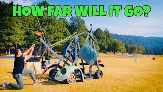 GIANT WATERBOMB CATAPULT!