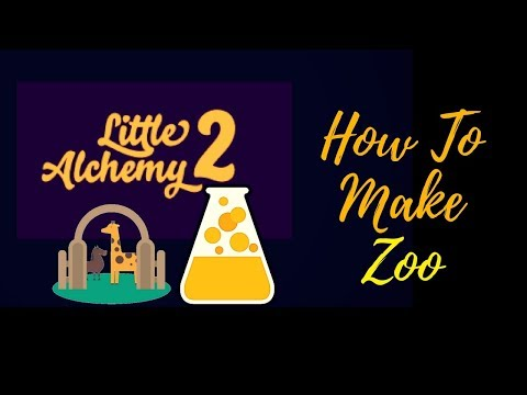 Little Alchemy 2-How To Make Zoo Cheats & Hints