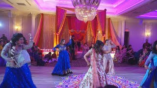 Bollywood SURPRISE DANCE FOR BRIDE & GROOM