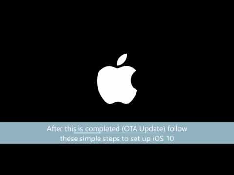How to set up iOS 10 on iPhone